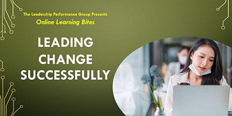 Leading Change Successfully (Online - Run 12) tickets