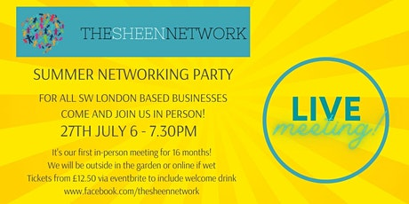 The Sheen Network: Summer Networking Party tickets