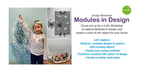 Design + Architecture Workshop for Kids: Design Object for the Home tickets