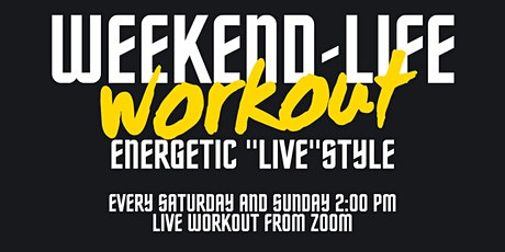 A-Live Weekend Free Workout tickets