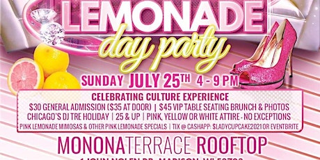 """Pink Lemonade Day Party """"Celebrating Culture Experiences tickets"""