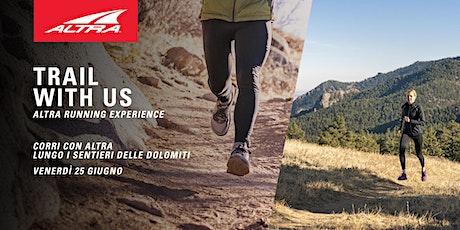 Trail With Us - Altra Running Experience biglietti