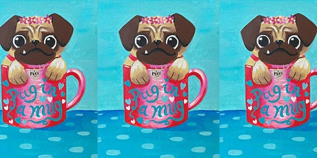 Easely Does It - Pug In A Mug- with Toni + 14 day recording tickets