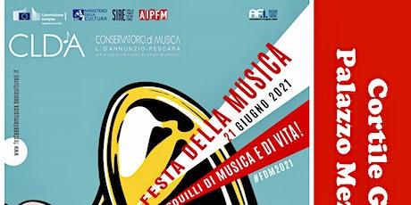 Festa della musica - edizione 2021, concerto del 26 giugno in CORTILE GOMEZ biglietti
