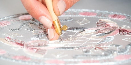 The Art Embroidery Revolution with French couturier, Delphine Genin. tickets