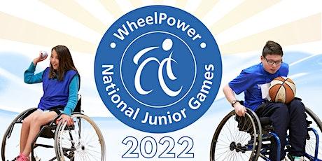 WheelPower's National Junior Games 2022 - Register Your Interest tickets