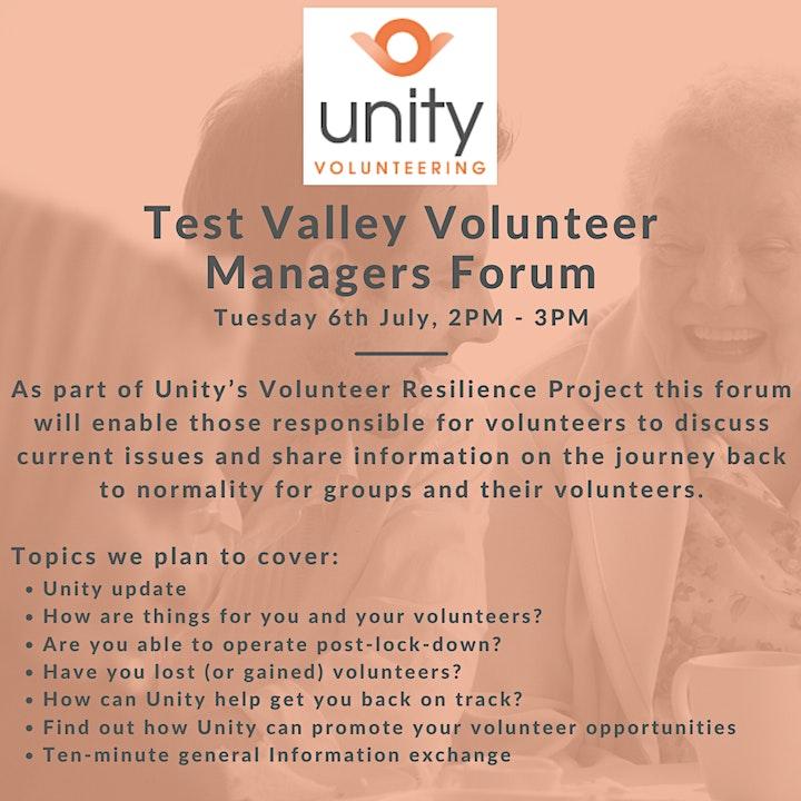 Test Valley Volunteer Managers Forum image