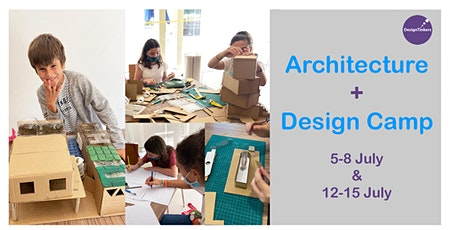 Design + Architecture: 3.5-Day Kids Holiday Camp tickets