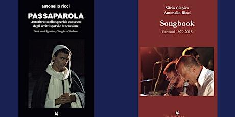 Antonello Ricci: LE ARTI DEL RACCONTO - Book & song live performance biglietti
