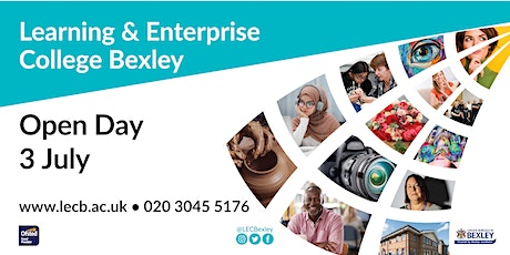 Learning & Enterprise College Bexley Open Day tickets