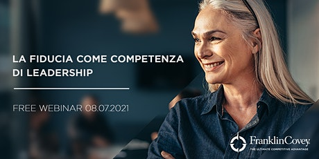 [Webinar] La fiducia come competenza di leadership biglietti