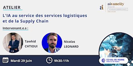 L'IA au service des services logistiques et de la Supply Chain billets