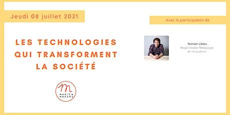 Les technologies qui transforment la société billets