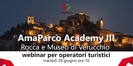 AmaParco Academy III - Webinar per operatori turistici dedicato a Verucchio biglietti