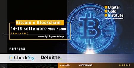 Bitcoin e Blockchain: training tickets