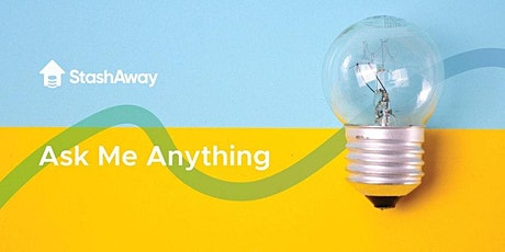 Live Webinar:StashAway HK - Ask Me Anything!(廣東話) tickets
