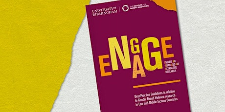 Transforming gender-based violence research: The ENGAGE Guidelines tickets
