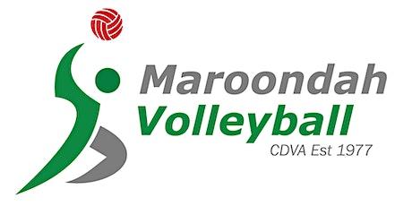 Maroondah Volleyball - Social Sundays tickets