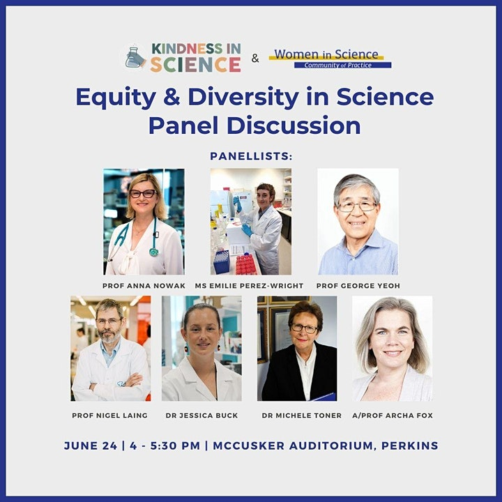 Kindness to Other Scientists: Equity and Diversity Panel Discussion image