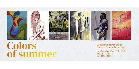 """Journée de vernissage de l'exposition """"Colors of Summer"""" Tickets"""