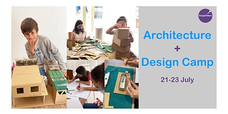 Design + Architecture: 3-Day Kids Holiday Camp tickets