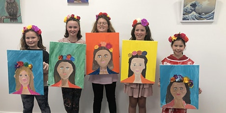 'Frida' Inspired Floral Paint & Create tickets