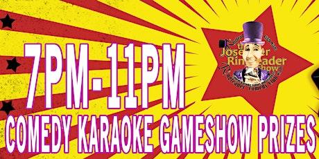 Ringleader Comedy Circus Miami Shores Fridays #ComedyKaraokeGamesGiveAways tickets