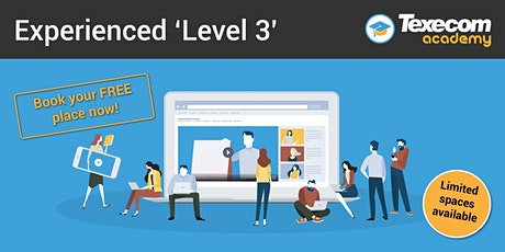 Level 3 -  Online  workshop for time served professionals biglietti