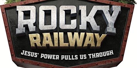 Rocky Railway Summer Mission tickets
