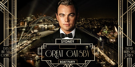 Great Gatsby Boat Party - Sydney Nov 20 tickets