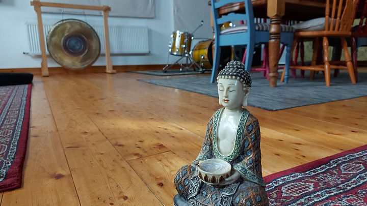 Stress Relief for Balance & Feeling Good Workshop with Bonfire Sound Circle image