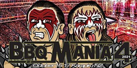 BBQ MANIA 4 tickets