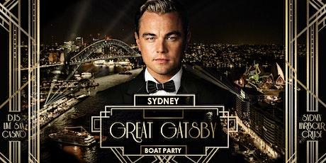 Great Gatsby Boat Party - Sydney Dec 11 tickets