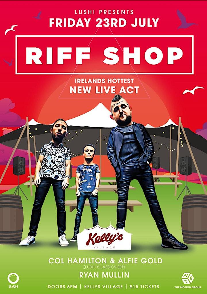 RiffShop - Ireland's hottest new live act at Kellys Village, Portrush image