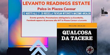 Massimo Ansaldo presenta Qualcosa da tacere biglietti