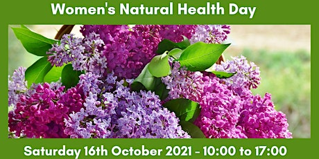 Women's Natural Health Day - Homeopathy at Home Series tickets