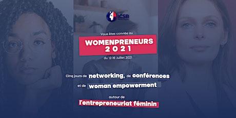 Womenpreneurs (ICSB2021) | Conférence autour de l'entrepreneuriat féminin billets