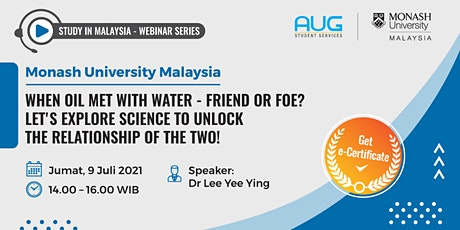 Monash University Malaysia - Webinar Series tickets