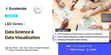 L&D Series : Data Science and Data Visualization tickets