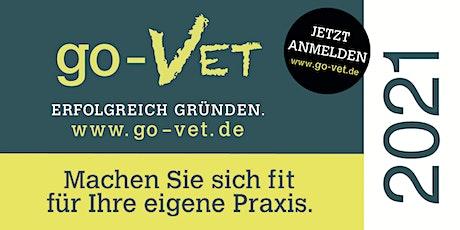 go-VET - Erfolgreich Gründen *Gießen 2021* Exklusiv für Tierärzte! Tickets