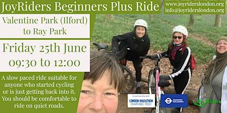 Intermediate Women's Bike Ride  Valentine Park Ilford to Barking Park tickets