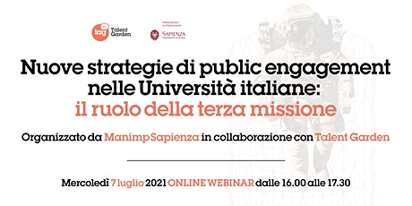 Nuove strategie di public engagement nelle Università italiane biglietti