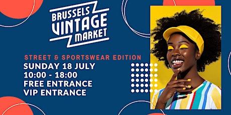 Brussels Vintage Market - Street & Sportswear  - 18 July billets