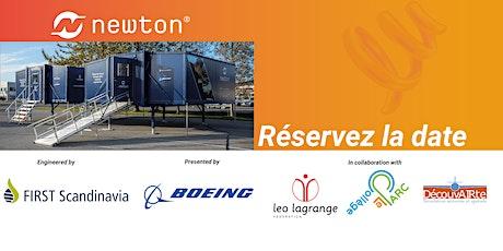 Cérémonie de présentation de la « Mobile Newton Room » à Dijon billets