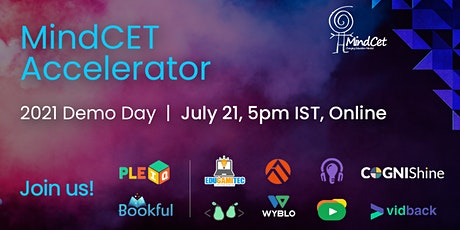 MindCET Accelerator Demo Day - Online Event tickets