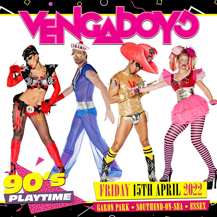 90'S PLAYTIME feat Vengaboys,911 and S Club image