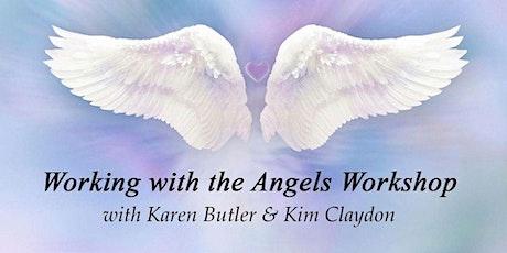 Working with Angels - Workshop - with Kim Claydon & Karen Butler tickets