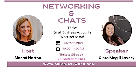 Networking & Chat with Ciara Magill Lavery tickets
