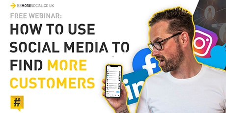 How To Use Social Media To Find More Customers tickets