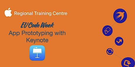 EU Code Week - App Prototyping with Keynote tickets